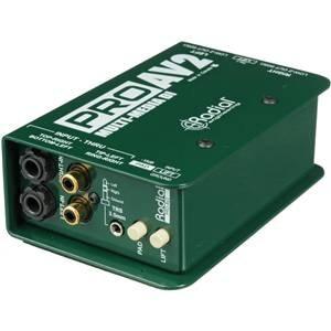 Radial PROAV2 Multimedia DI Box