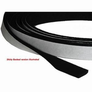 Neoprene Strip Non-Sticky Back 13 x 50mm (per m)
