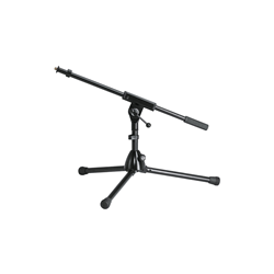 K&M 259/1 Low (Fixed Boom Short Legs) Mic Stand