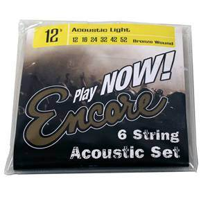 Guitar Strings Acoustic Light 12S