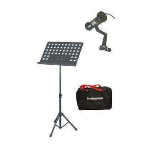 Studiospares SMS17 Music Stand/Light/Bag Bundle