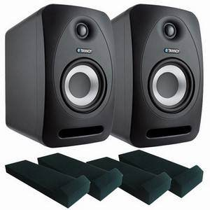 Tannoy Reveal 402 Studio Monitors + Pads