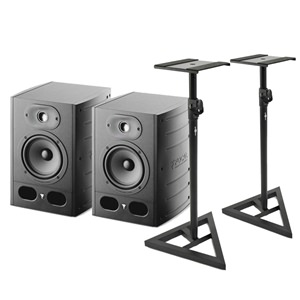 Focal Alpha 50 Bundle inc Stands