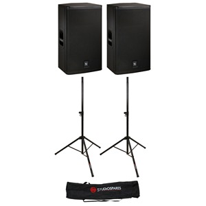 Electro-Voice ELX115P Active Pair + Stands + Stand Bag