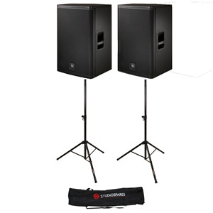 "Electro-Voice ELX115 15"" Passive Pair + Stands + Bag"