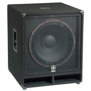 Yamaha Sw118V Club V Titan Passive PA Speaker