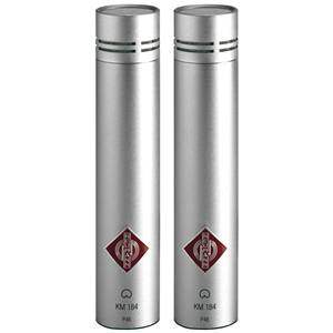 Neumann KM 184 Stereo Set Nickel