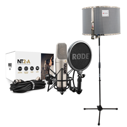 Rode NT2A + RED50 + Mic Stand (No Boom)