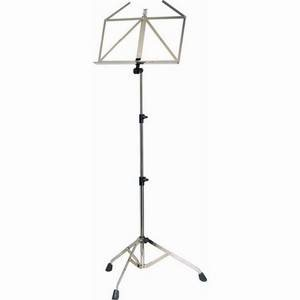K&M 10700 Collapsible Music Stand (Nickel)