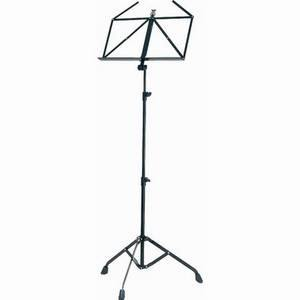 K&M 10700 Collapsible Music Stand (Black)