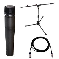 Shure SM57LC Set (5m Lead / Short Stand / SM57)