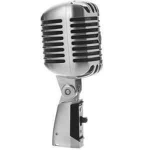 Shure 55SH Silver Retro Vocal Mic