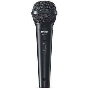 Shure SV200-A Dynamic Mic with Pouch and Mic Holder