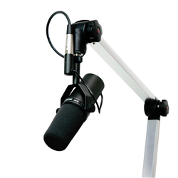 Shure SM7B Microphone with Desk Boom Arm