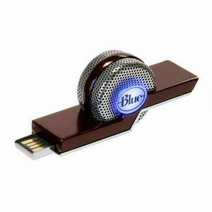 BLUE Tiki Noise Cancelling Skype Mic