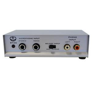 B-Tech Bt26 Mic/Phono Preamp