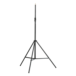 "K&M 21411 Heavy-Duty Mic Stand (No Boom) 1/2"" Thread"