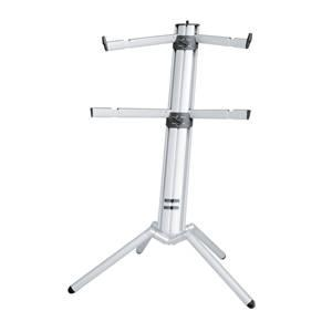 K&M 18860 Spider Pro Silver Keyboard Stand