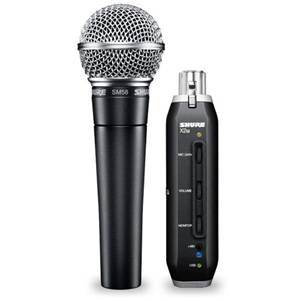 Shure SM58-X2U Vocal Microphone