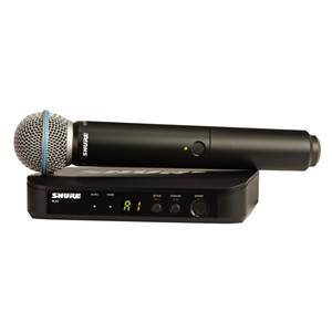Shure BLX24/B58 Beta 58A Vocal System Channel 38