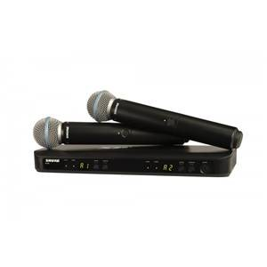 Shure BLX288/B58 Beta 58A Dual Vocal System Channel 38