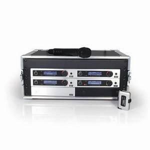 Trantec S5.5 RACK-4 with Remote Kit CH38