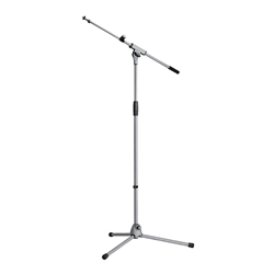K&M 21080 Microphone Stand Grey