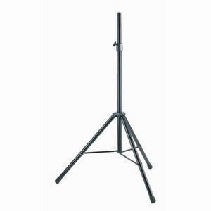 K&M Speaker Stand Al/Steel Black