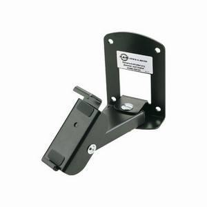 K&M 24465 Control 1 Bracket Black (single)