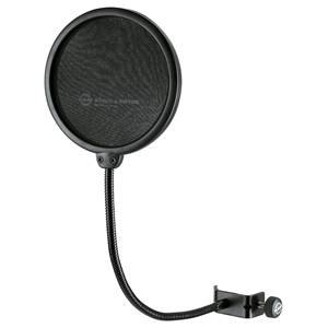 K&M 23956 Popkiller Microphone Shield, Black 130mm
