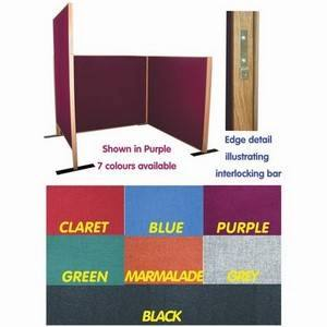 Soundcheck Screen + Bracket Purple 1200 X 1500