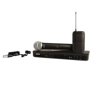 Shure BLX1288UK/W85 Combo System with WL185