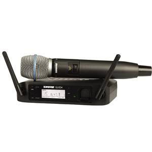 Shure GLXD24UK/B87A Handheld System