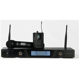 Trantec S2.4HBX Dual Handheld/BeltpackSystem 2.4GHz