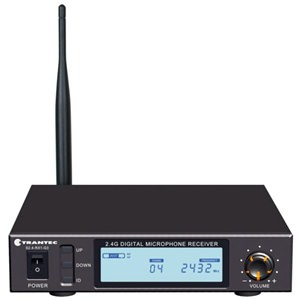 Trantec S2.4-RX1 Single Receiver 2.4GHz with LCD