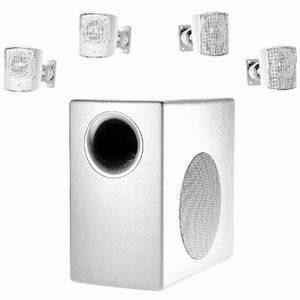 JBL Control C50 Pack Sub + 4 Satellites White