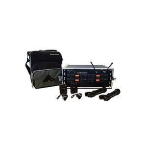 Audio Technica ATW2421aP Rack System - 2xLavalier 2xHandheld