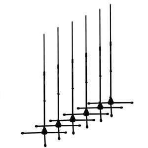 Studiospares Mic Stands 6-Pack No Booms