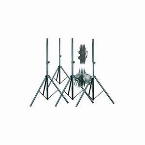 Studiospares 4-Pack Pa Speaker Stand