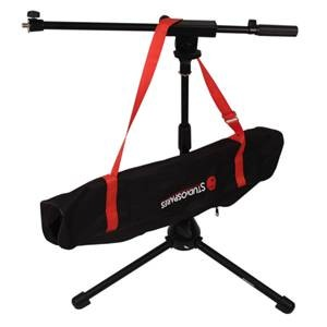 Studiospares Short Mic Boom Stand + B509 Bag Bundle