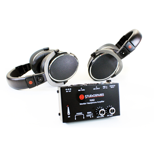 Studiospares M1000 Headphones + HA2 Headphone Amp Bundle