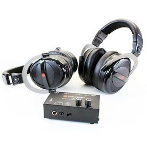 Studiospares M2000 Headphones + HA2 Headphone Amp Bundle