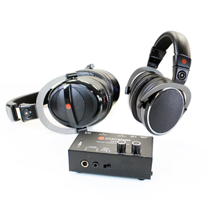 Studiospares M1000 + M2000 Headphones + HA2 Headphone Amp Bundle