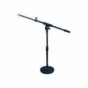 Studiospares Short Round-Base Mic Stand and Boom (4 Pack)