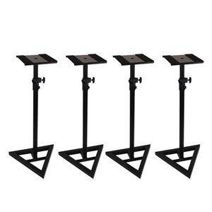 Studiospares Triangle Base Speaker Stand 4 Pack