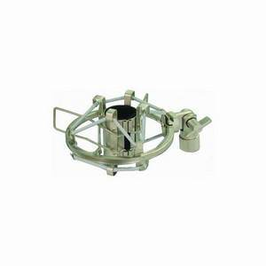 Mic Shock Mount / Elastic Suspension Small (Silver)