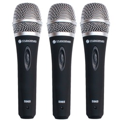 Studiospares S965 3-Pack Vocal Mics
