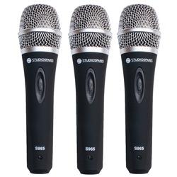 Studiospares S965 3-Pack Vocal Mics