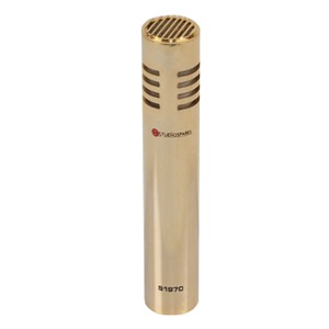 Studiospares S1970 Female Vocalist Mic Gold