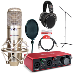 Studiospares S2000 & 2i2 Essentials Recording Kit